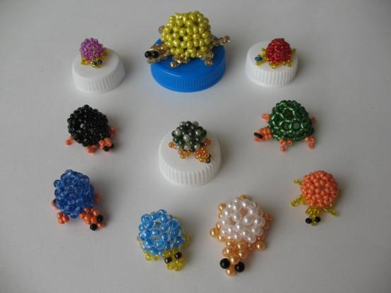 Дидактическая игра «Разноцветные черепашки»