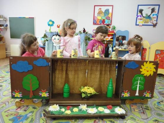 Как сделать своим руками детский кукольный театр