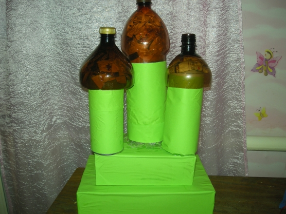 Церковь из пластиковых бутылок мастер класс