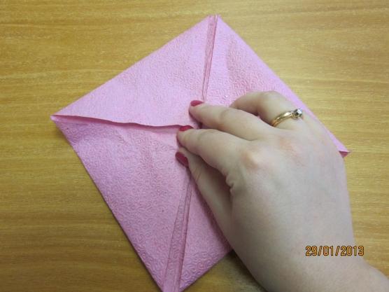 Как сделать кувшинку из салфетки своими руками