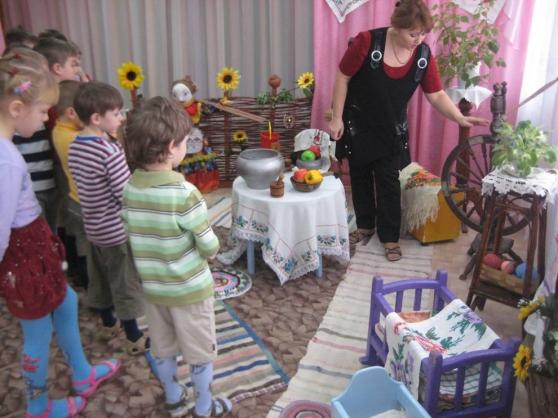 знакомство детей с крестьянским бытом