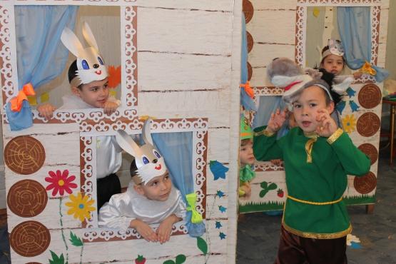 Инсценирование сказки на новый год в начальной школе