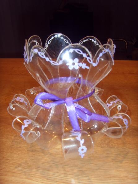Подставка для яйца своими руками из пластиковой бутылки