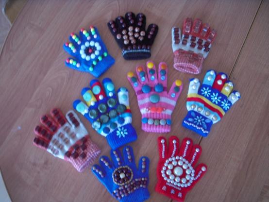 Массажные перчатки своими руками фото 865