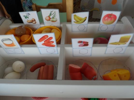 Муляжи продуктов  в детском саду 176