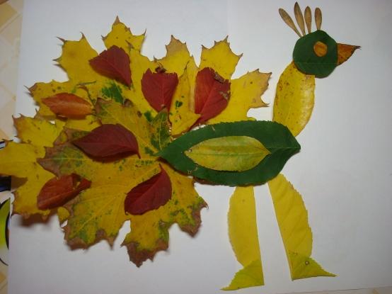 Подделки осень в садик