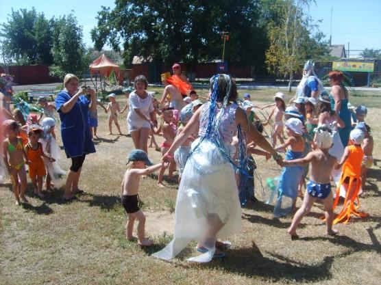 Предметно-развивающая среда на участке детского сада «Сказка»