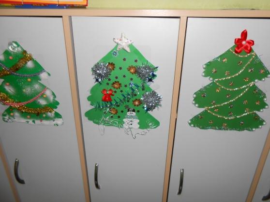 Как оформить детский сад к новый год