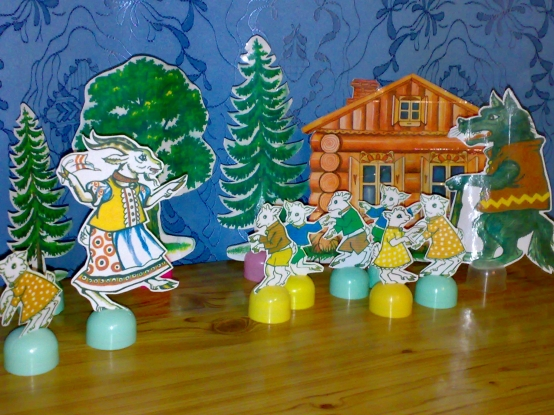 Настольный кукольный театр в детском саду своими руками