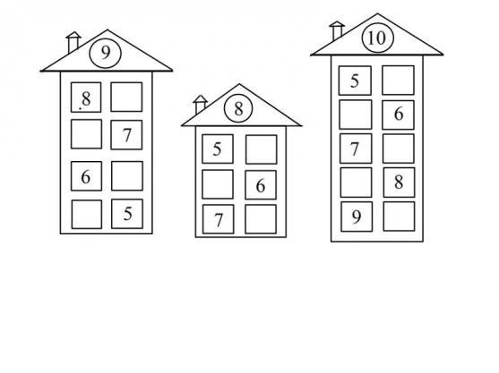 Задачки по математике для подготовительной