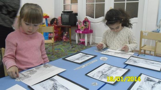 знакомство дошкольников пейзажной живописью