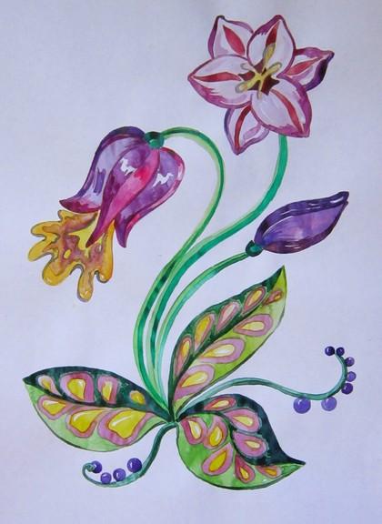 цветы по программе в старшей группе