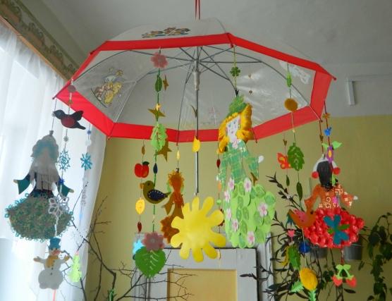 Времена года в детский сад своими руками