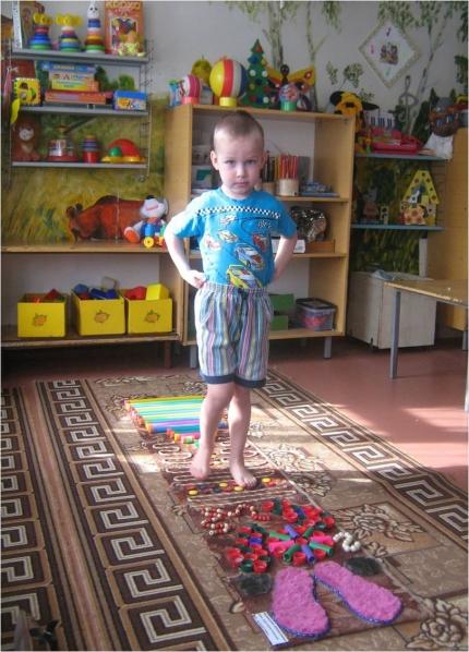 Массажная дорожка своими руками в детский сад