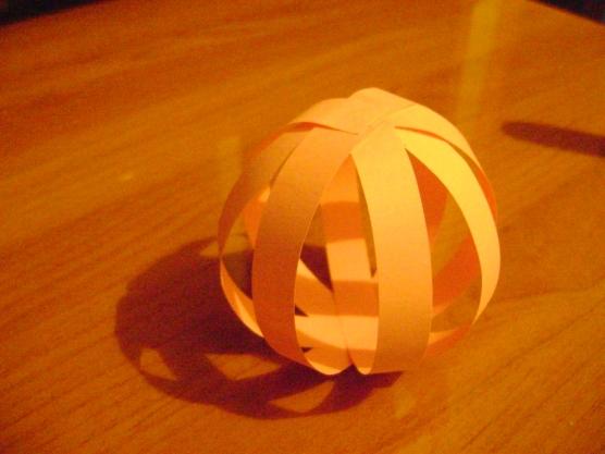 Как сделать фонарик шар