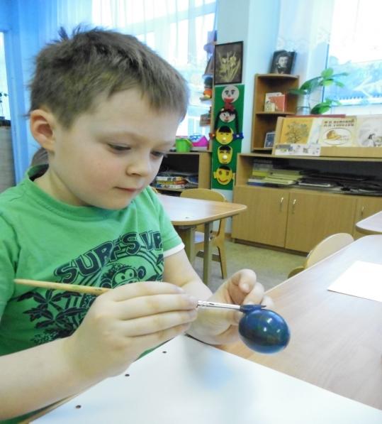 Оттиск воздушным шариком. Нетрадиционные техники в изобразительной деятельности старших дошкольников