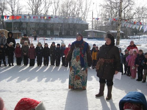 Проводы зимы в нашем детском саду