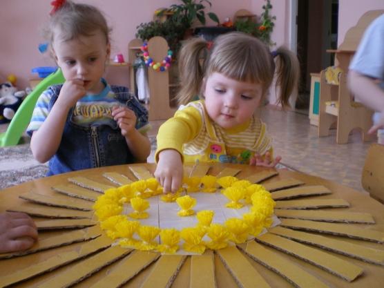 Детские поделки из мозаики