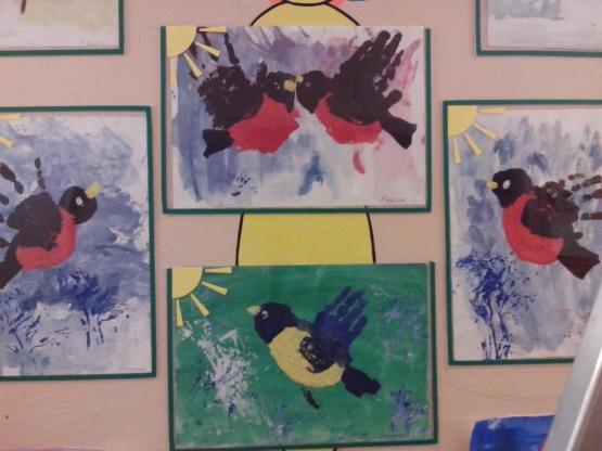 Поделки птиц в доу 166