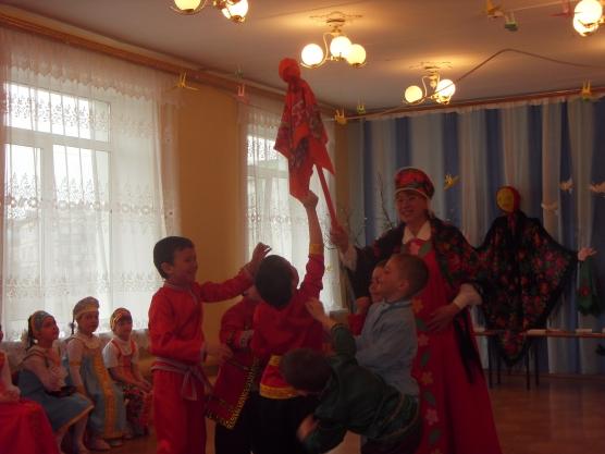 Русские народные игры с платком для