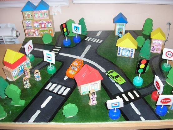 Поделки по правилам дорожного движения своими руками фото 664