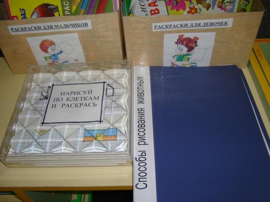 Уголок изодеятельности в детском саду картинка