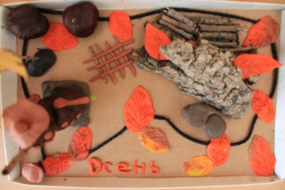 Поделки в 1 младшей группе осень