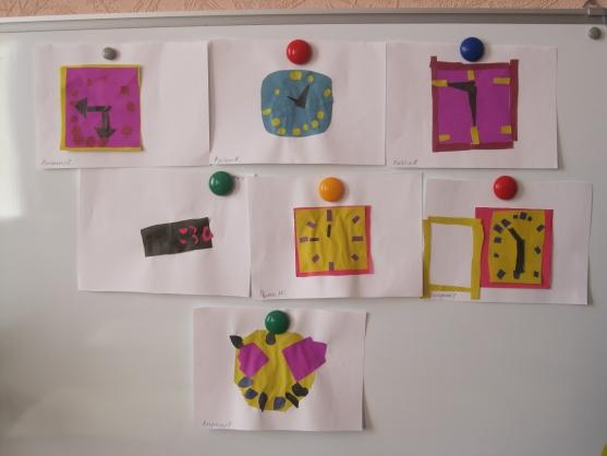 знакомство детей с часами в подготовительной группе