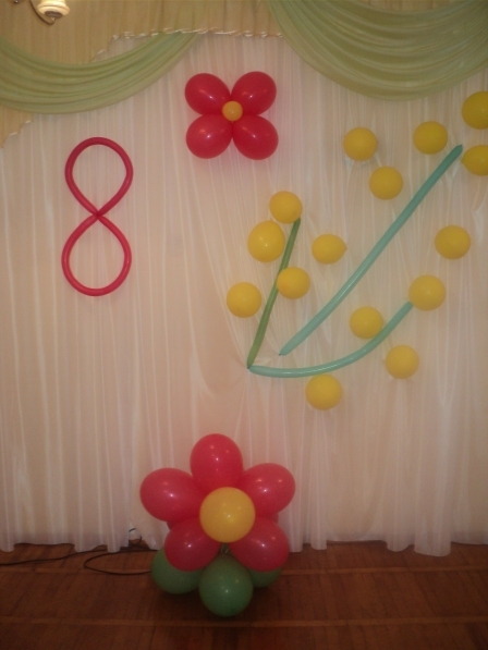 Картинки к 8 марта для оформления зала