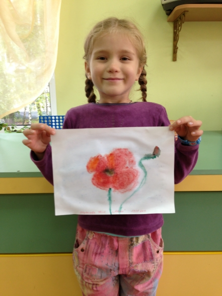 познакомить детей с акварельными красками