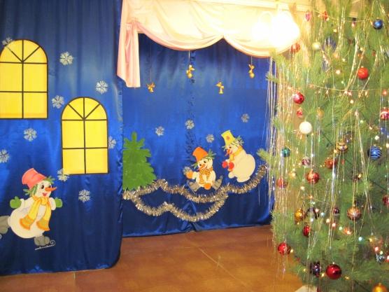 Идеи оформление детского сада новый год