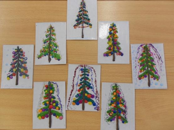 Рисование новогодней открытки в старшей группе конспекты занятий, анимация
