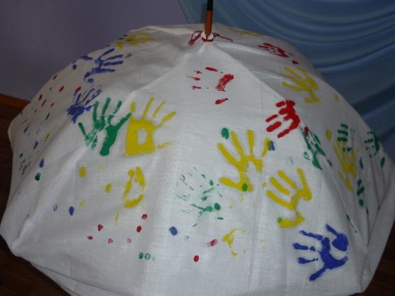 Зонтик на конкурс своими руками 912