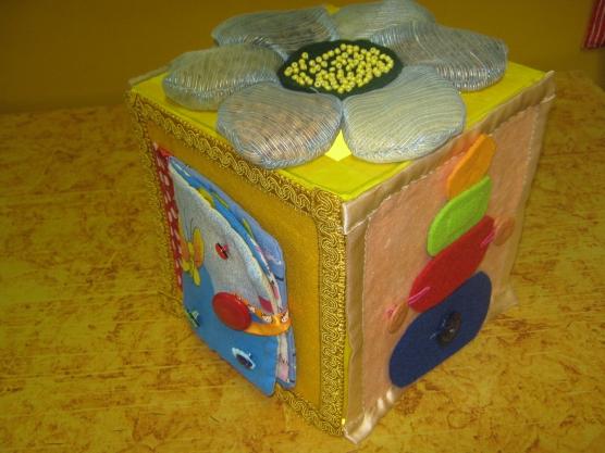 Сенсорный кубик своими руками 83