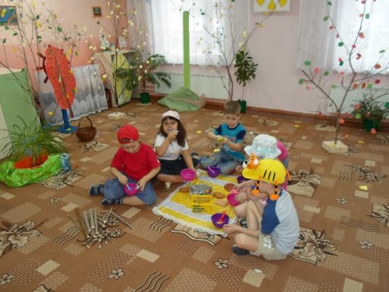 Сюжетно-ролевая игра отдых в лесу сюжетно-ролевая игра для детей3-4 лет