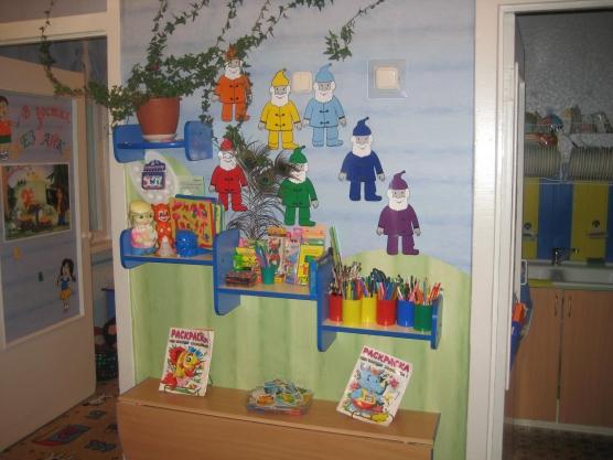 Оформление уголок творчества в детском саду своими руками фото