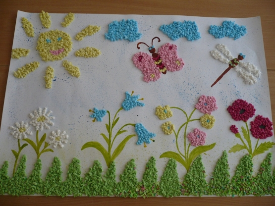 Летняя поляна своими руками
