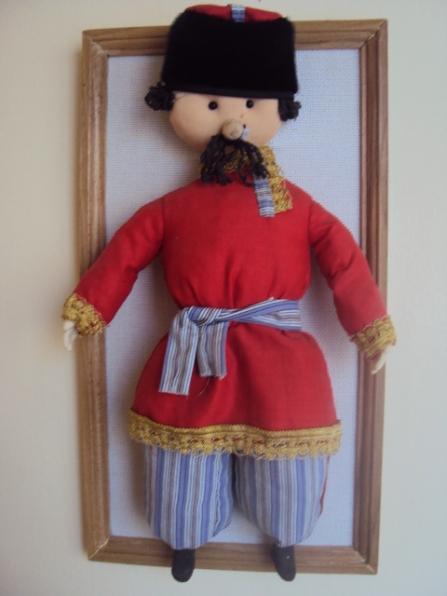 Как сшить куклу своими руками казака и казачку 12