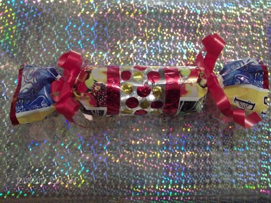 Игрушка новогодняя конфета своими руками