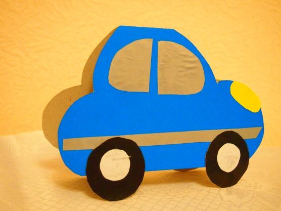 Поздравительный, открытка машина своими руками из бумаги для детей