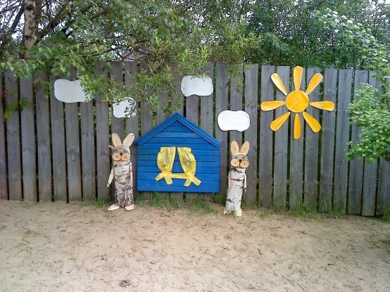 Оформление спортивной площадки детского сада своими руками фото