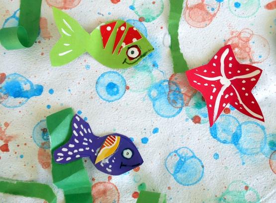 «Мы рисуем море». Конспект занятия по рисованию мыльными пузырями с использованием ИКТ