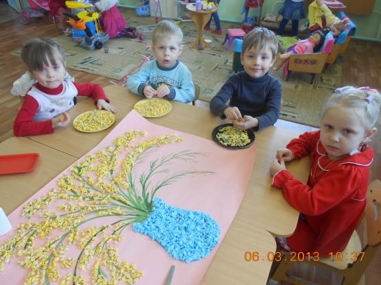 Поделки в детском саду с детьми 2 лет