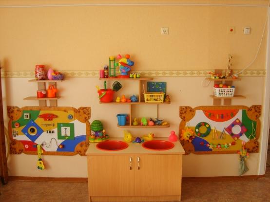 Развивающая среда для детей своими руками