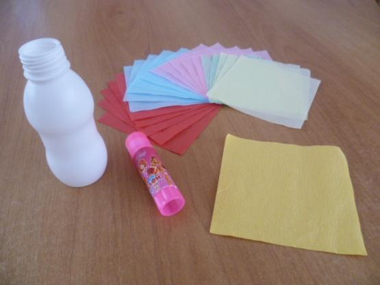 Детские поделки - Какой подарок на 8 марта можно сделать с детьми 3 лет Вазочка в подарок маме.