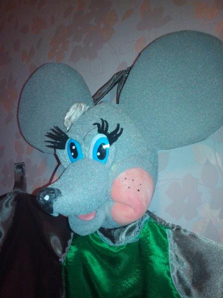 Кукольный театр мышь своими руками 56