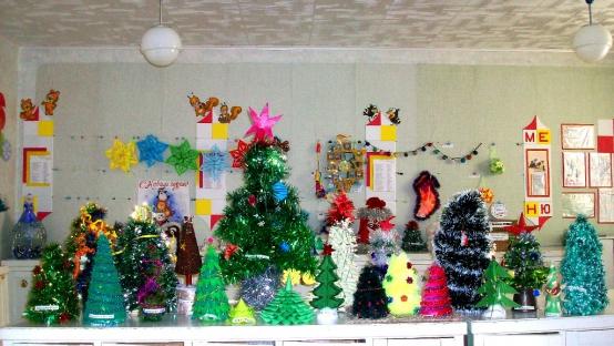 Поделки детьми подготовительной группы к новому году