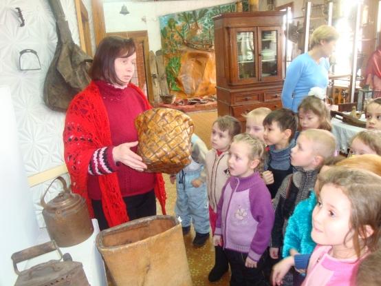 Приобщение детей к истории и культуре русского народа