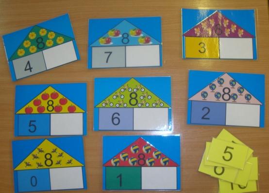 Дидактическая игра «Числовые домики» (для детей 6–7 лет)