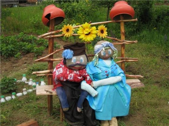 Поделки в детском саду оформление детских участков своими руками фото 825